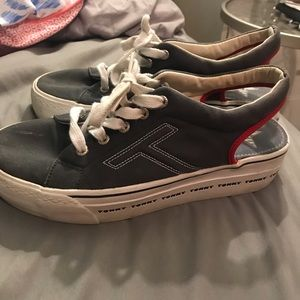 tommy hilfiger platform shoes